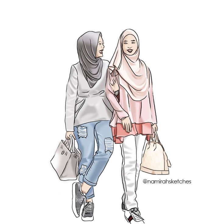 3w namirahsketches@vivyyusof & @bellealyahya  #friendshipgoal . . . #illustration #fashionillustration #malaysian #fashion #art #fashionillustrator #fashiondesign #bellaammara #duckscarves