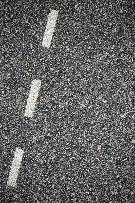 Stock photo ✓ 17 M images ✓ High quality images for web & print | Asphalt texture with separation lines