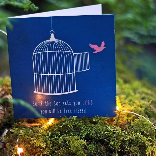 YOU ARE SET FREE Inspired by: John 8:36 Designed to encourage someone who is struggling with… - Addiction - Overcoming spiritual strongholds - Sin - Relationships Available to buy at: www.mannacards.co.uk Manna Cards: Christian Cards of Encouragement for Periods of Wilderness