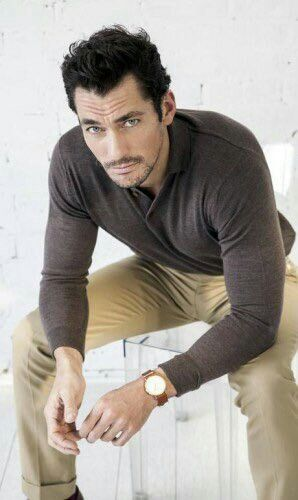 David Gandy in the new issue of @CadernoEla || Ph by Ricardo Abrahao