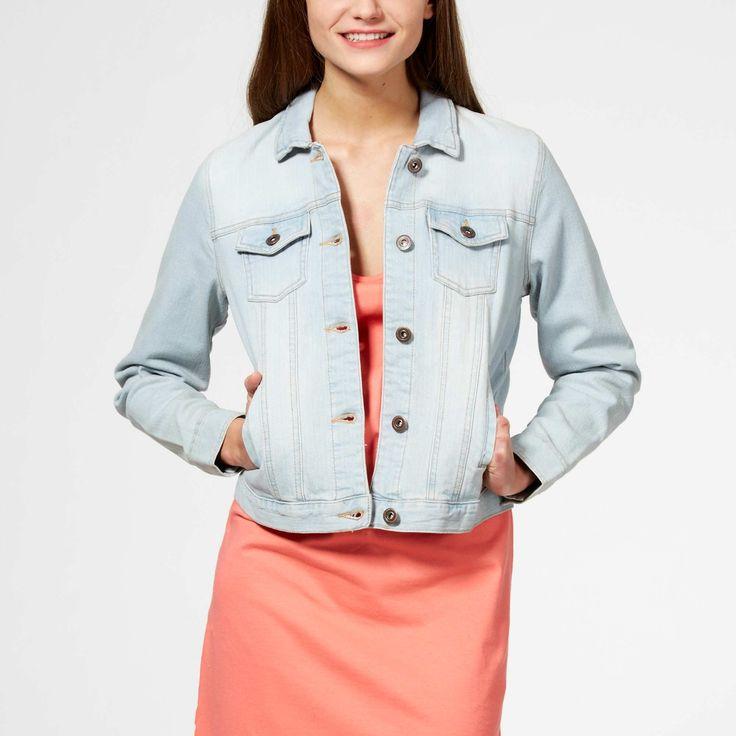Giacca jeans stretch Donna - Kiabi - 16,00€