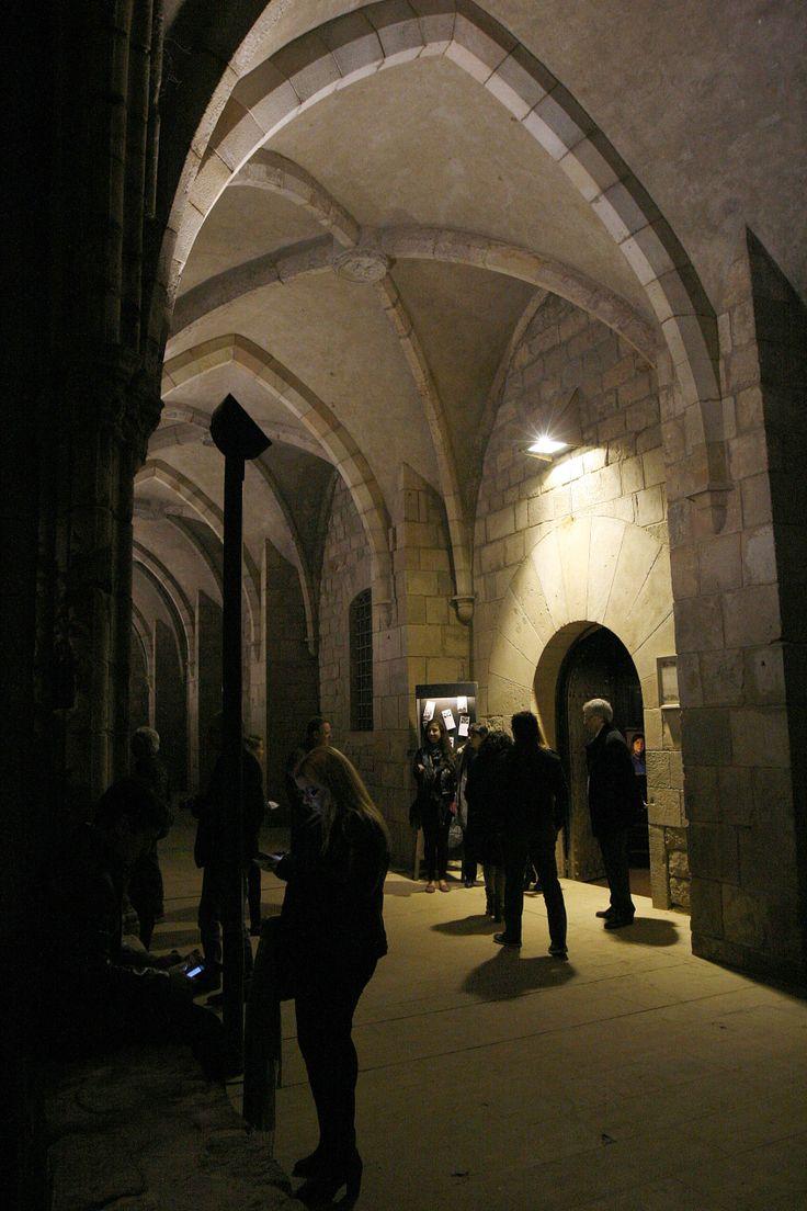 Biblioteca de Catalunya, espai on es inaugurar el X Festival BBVA de Música Religiosa de Vic, amb La Fura dels Baus.