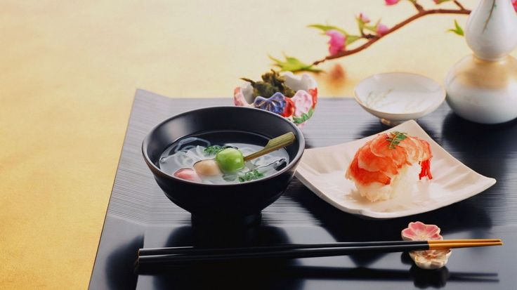 Wallpaper: voedsel, japanse keuken, sushi, noedels, gehaktballen ...