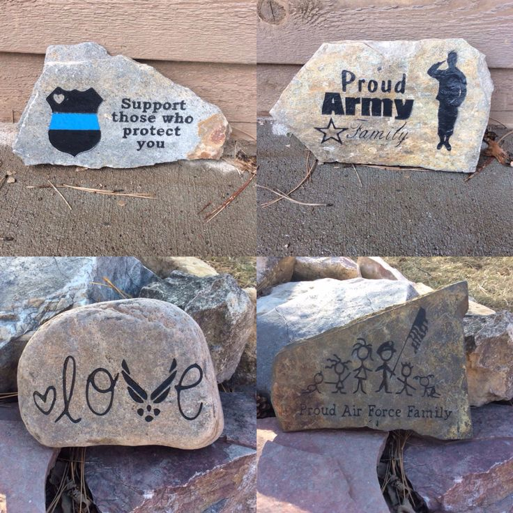 These rocks are available @ ImpressionsOTR.Etsy.com