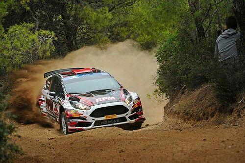 Ford Fiesta R5 Alexey Lukuaniyk