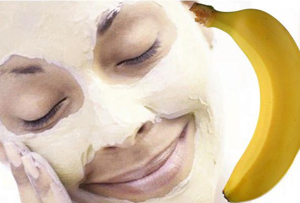 Gezichtsmasker maken met banaan