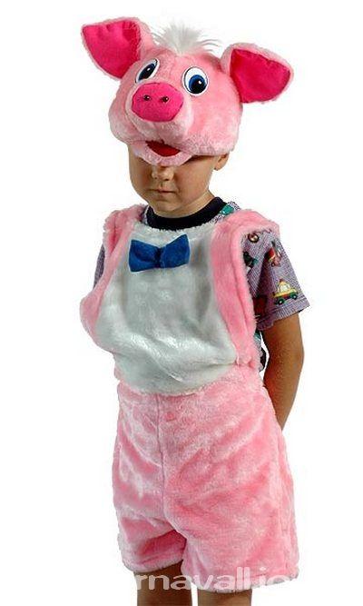 Костюм Поросенка, костюм Поросенка для мальчика, костюм три поросенка, костюм поросенка детский, детский карнавальный костюм из