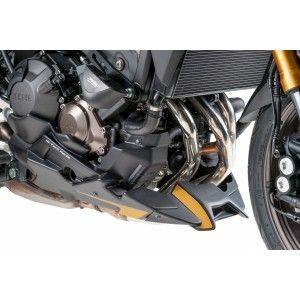 Καρίνα Puig Yamaha MT-09 Tracer μαύρο ματ (για εργοστασιακή εξάτμιση)
