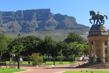 Company Gardens, Cape Town, South Africa