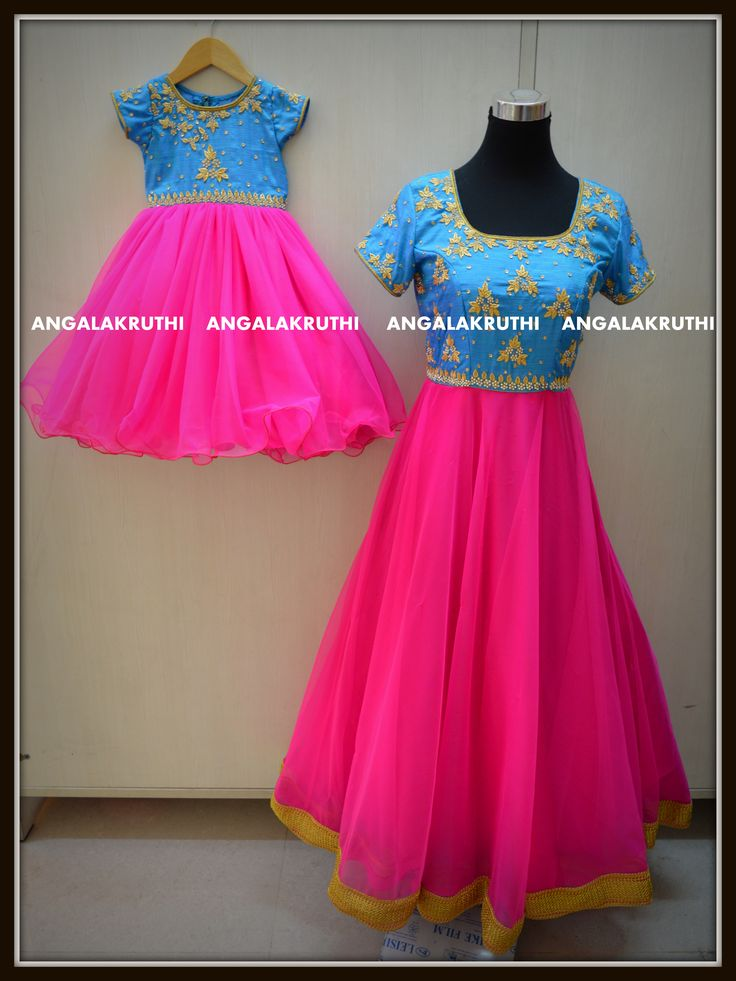 Best matching dresses for mother and daughter ideas on
