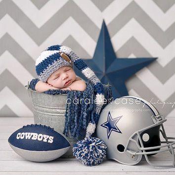 dallas cowboy football baby shower decorations - Google Search newborn photos, sports themed newborn photos #baby #photography #newborn