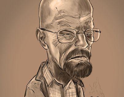 "Check out new work on my @Behance portfolio: ""Ilustración - Heisenberg - BB"" http://be.net/gallery/44377099/Ilustracion-Heisenberg-BB"
