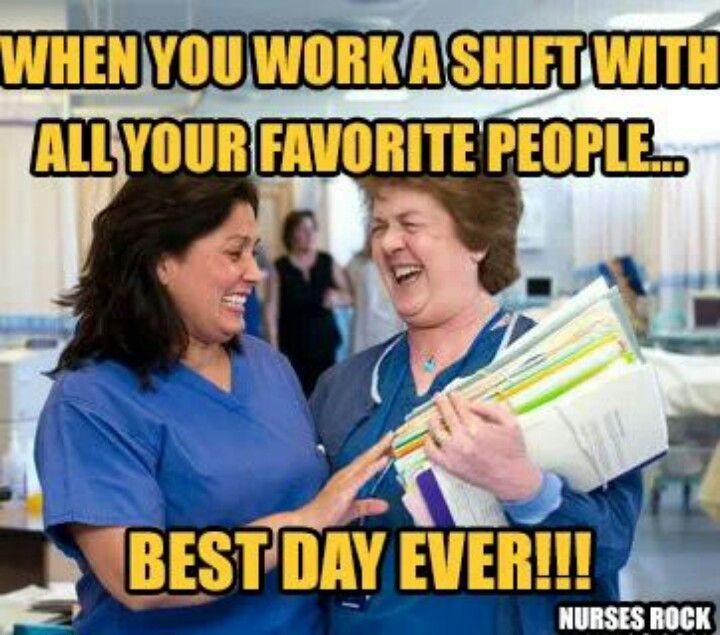 Working with awesome coworkers makes the difference between a sick call and showing up
