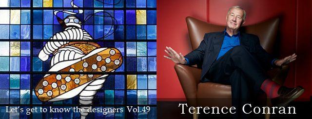 「デザイナーをもっと知ろう!!」第49弾、テンレス・コンラン(Tenrece Conran)