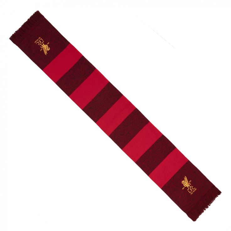 LFC 125 Mixed Marl Bar Scarf | LFC 125 Year Anniversary Collection | Liverpool FC Official Store