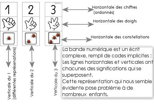 Numération au Cycle 1 : La bande numérique puzzles.