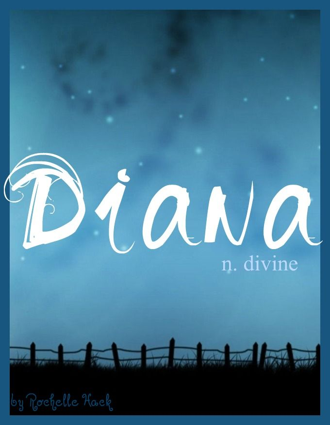 Baby Girl Name: Diana or Daiana. Meaning: Divine; Heavenly. Origin: Roman Goddess of the Moon, and the Hunt, and Birthing; who had the power to converse with animals. http://www.pinterest.com/vintagedaydream/baby-names/