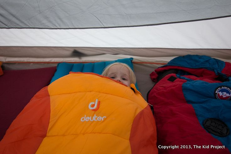 Keeping a young kid IN their sleeping bag? Tip and gear suggestions...