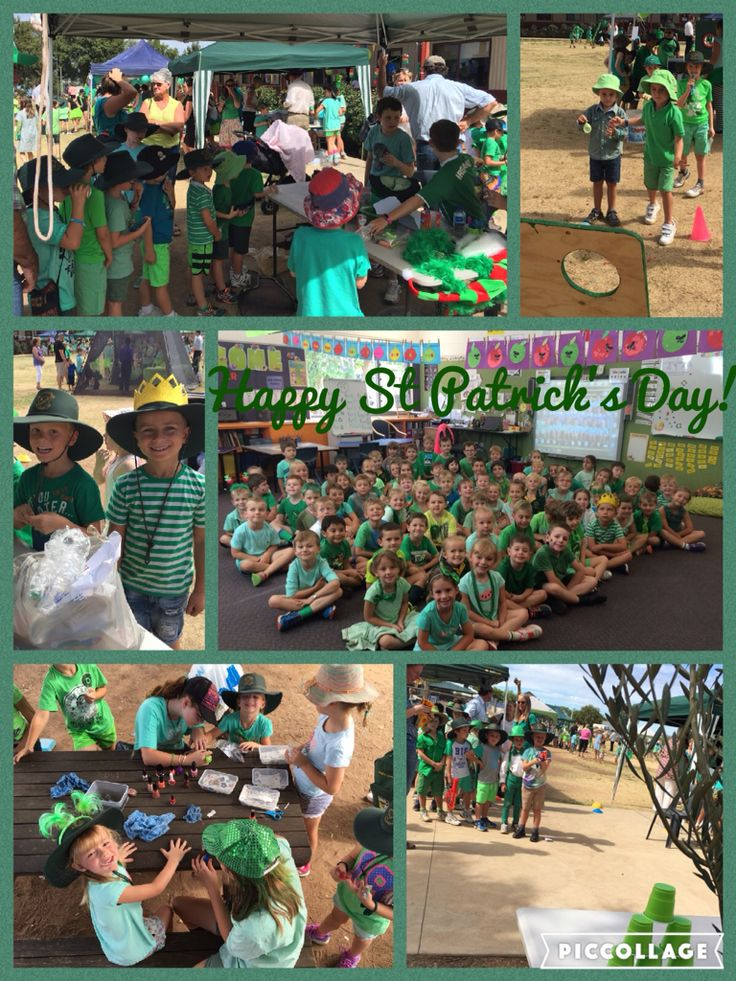 Kindergarten loved their first Green Day. Thanks Year 6 buddies for making it a great day!