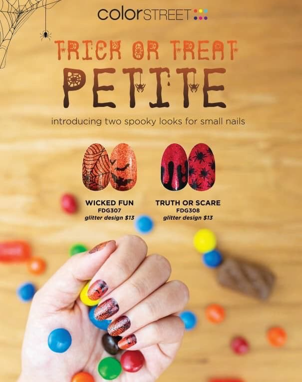 For Those Nails That Just A Little Petite Nail Polish Trends Color Street Halloween Nails