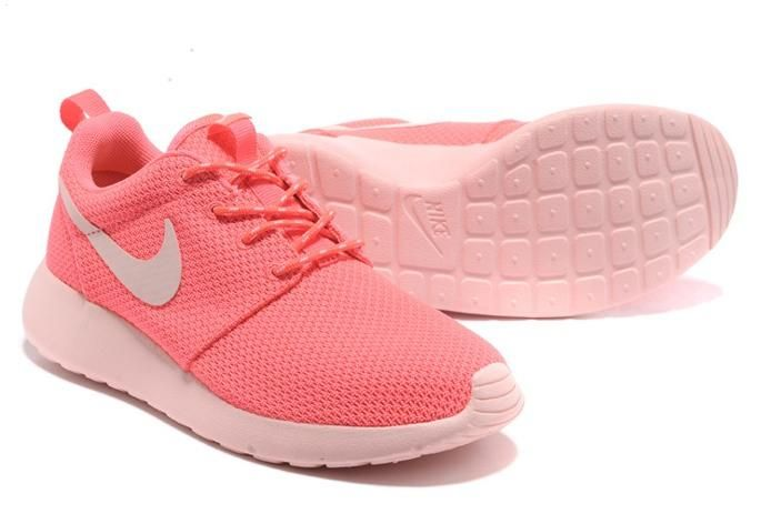 Nike Roshe Run Womens Shoes Breathable For Summer Pink