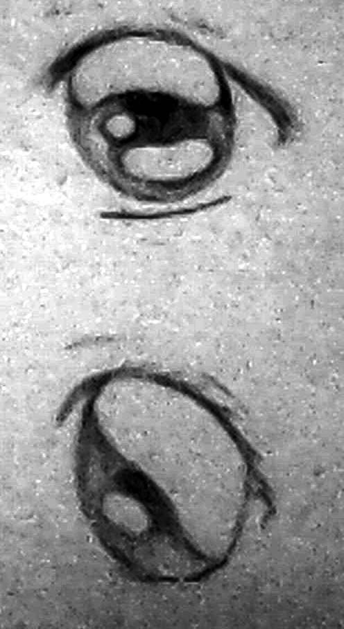 two eyes anime