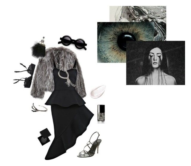 """""""Flowing Through My Veins"""" by vulture95 ❤ liked on Polyvore featuring Reger by Janet Reger, Isabel Marant, Miss Selfridge, Fenton, Enzo Angiolini, Jouer, Chanel, Material Girl and Serge Lutens"""