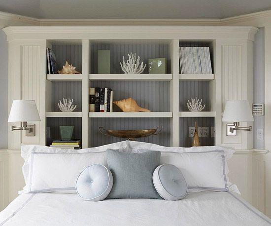 20 Best Beds Headboards Images On Pinterest: Best 20+ Bookcase Headboard Ideas On Pinterest