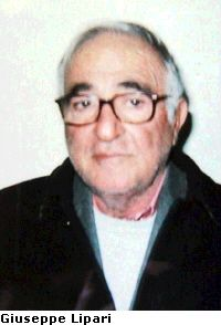 "Giuseppe Lipari (21 may1938)""consigliere""and treasurer  Bernardo Provenzano. arrested 04.01.2010"