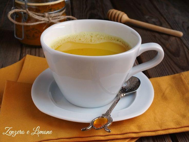 Latte d'oro o Golden Milk