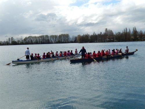 team building dragon boat lago boscaccio MI