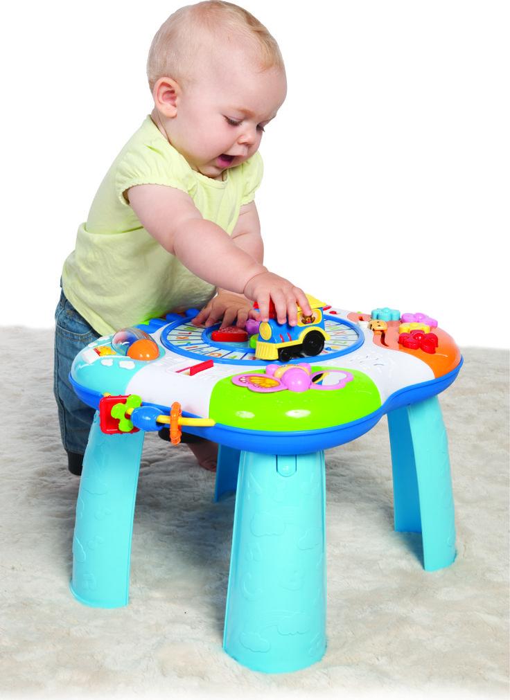 STOLIK EDUKACYJNY Smily Play to nie tylko pomysł na ciekawą zabawę, ale doskonały sposób na zadbanie o prawidłowy rozwój dziecka :)