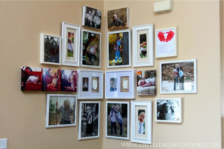 Dwellings By DeVore: Corner Gallery Wall