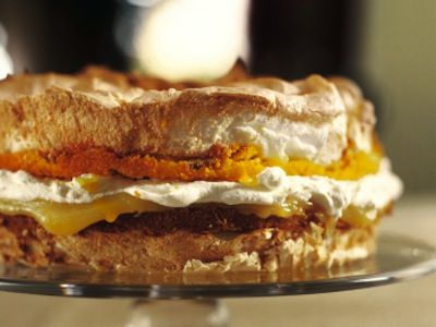 Nigella Lawson's recipe for Lemon Meringue Cake