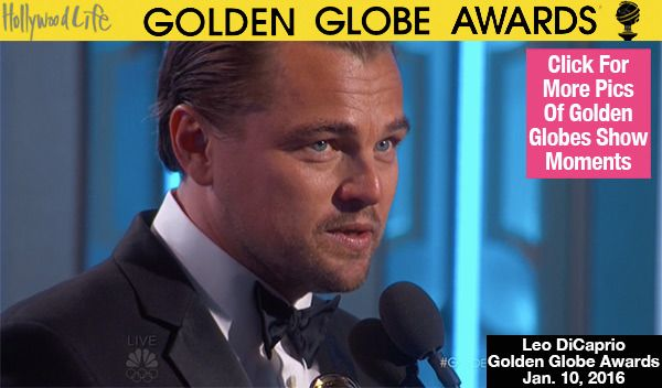 Leonardo DiCaprio has kicked off awards season in a big way, snagging the Best Actor in a Drama Golden Globe Award for his brutal role in 'The Revanant.'