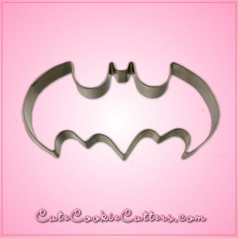 Batman cookie cutter (this would make awesome sugar cookies... Like the records I made, except Batman logo.)