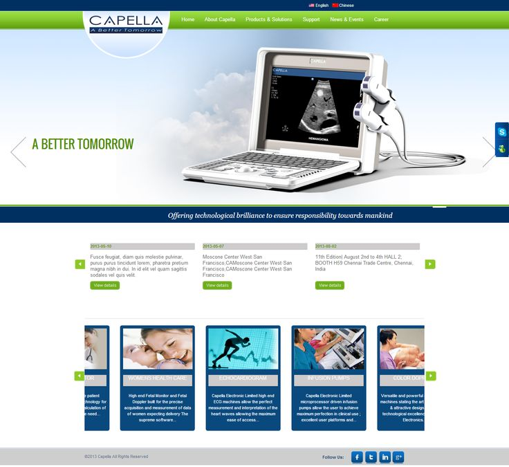 Check out one our brand new projects - ‪#‎WordPress‬ ‪#‎CMS‬ site with product (medical equipment) gallery incorporated for Capella Electronics Ltd ‪#‎HongKong‬ http://www.capellaelectronics.com.hk/ Get your website designed and developed by us within an affordable cost margin. Call us now >> +91-99-3344-5500 or Email: sales@itsinindia.com ‪#‎webdesign‬ ‪#‎webdevelopment‬