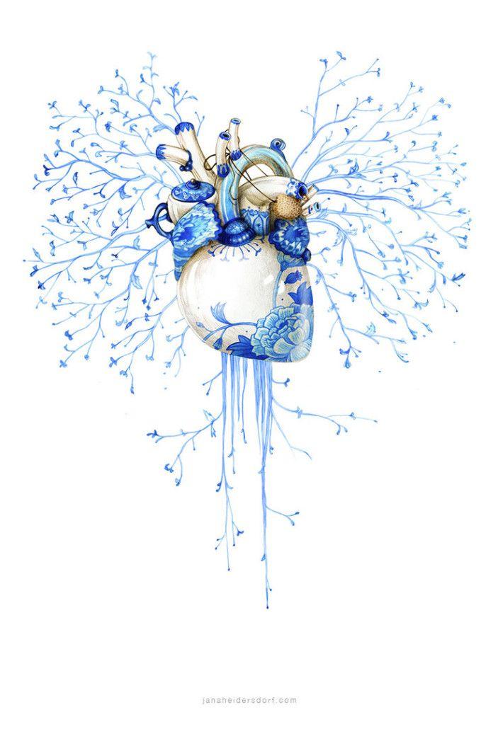 Pencil Artist Jana Heidersdorf - This is beautiful. I'd love a tattoo like this.