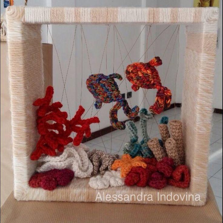 #crochet #aquariumcrochet #handmade #alessandraindovina