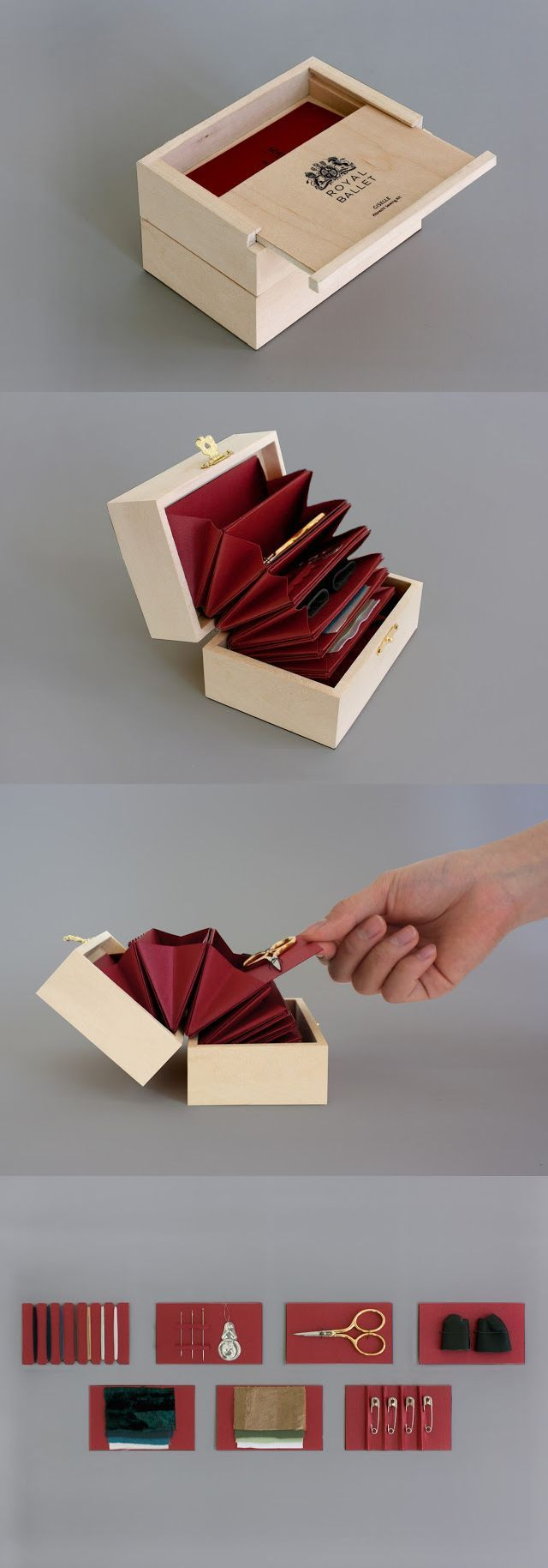 Ballerino Sewing Kit by Stacy Park