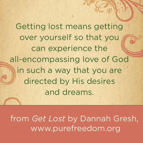 Get Lost by Dannah Gresh