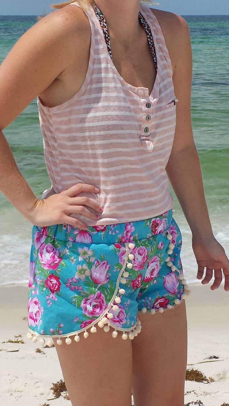 Coachella Shorts Pattern Women Xs Xxl Shorts Coachella