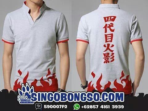 Polo minato  Price : IDR 149000 / USD 20 Material : Cotton Combed 24s Application : Screen Printing  Delivery from Indonesia  Contact : ORDER BBM : 590007F2 WA : 62 857 4161 3939 LINE : singobongso  RESELLER BBM : 7D7993CF WA : 62 89 659 326 456 email : singo.bongso@gmail.com  Facebook http://ift.tt/1VLnZ12 http://ift.tt/1XzdPBW Instagram http://ift.tt/1OhgqcD http://ift.tt/210r841  Singobongso Anime Clothing Jaket Anime | Kaos Anime | Store Anime | Tas Anime | Jaket Naruto | Jaket Akatsuki…