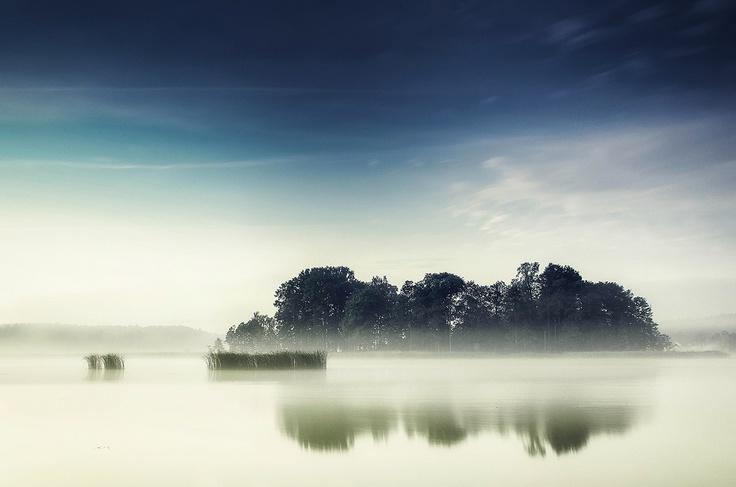 Mazury i mgła