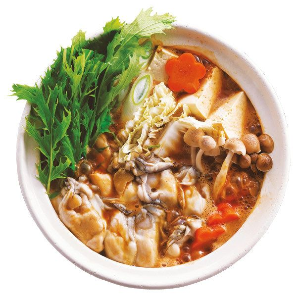 旬の広島産かきと土手鍋用味噌をセットに。【広島産かきの土手鍋セット】