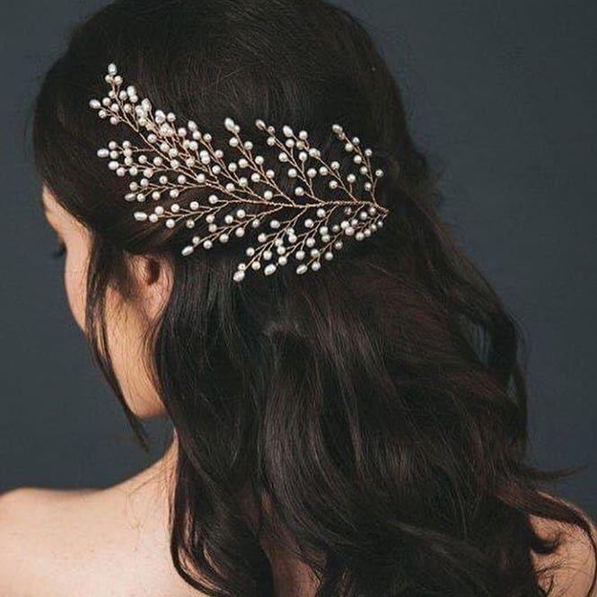 Do You Like It الجزائر المغرب تونس عروس جمال حجاب موضه دبي مكياج ديكور اكسبلور انستقرام Boho Hair Vines Wedding Hair Vine Boho Hair Vine Wedding