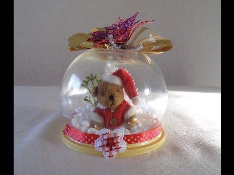 Cómo hacer Burbujas de navidad. Adornos navideños - YouTube