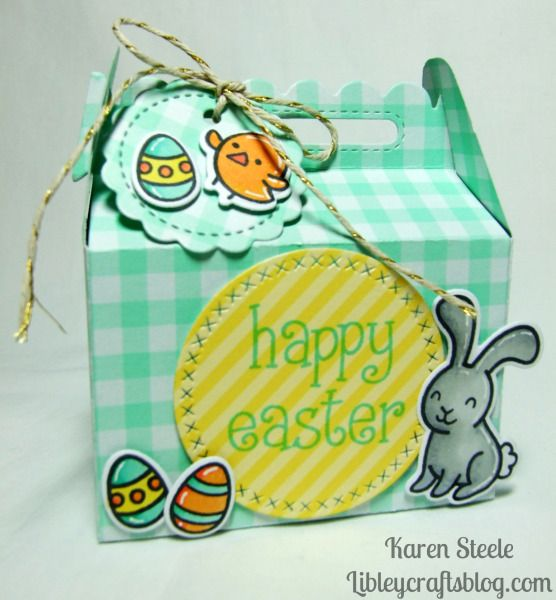 1947 best gift bags and gift wrap images on pinterest wrapping today im sharing some cute little easter treat bags and boxes negle Gallery