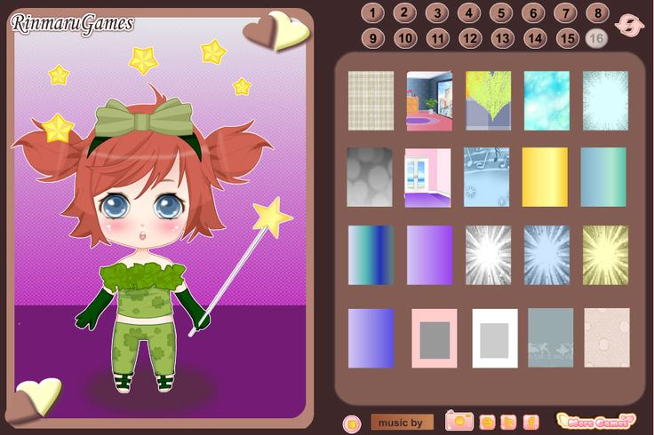 Mega chibi creator Screen shot 1