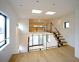 フリーダムアーキテクツデザインの狭小住宅スキップフロア例2